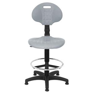 Крісло лабораторне PU високе