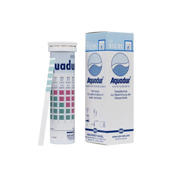 Індикаторні смужки для визначення жорсткості води AQUADUR®